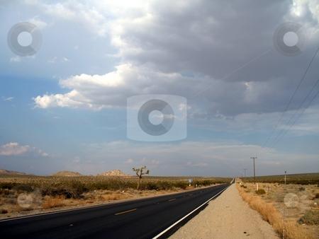 California Drive stock photo, Barren desert of California by Tim Greek