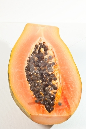 Papaya fruit stock photo, The papaya is the fruit of the plant Carica papaya, in the genus Carica. by Mariusz Jurgielewicz