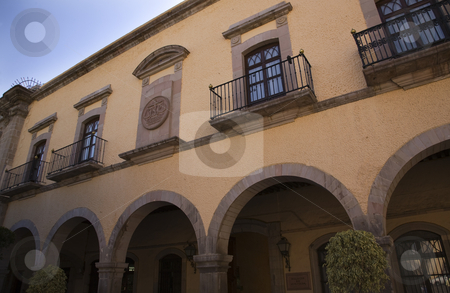 Judicial Court Queretaro Mexico stock photo, Judicial Court, Palace of Justice, Queretaro, Mexico by William Perry