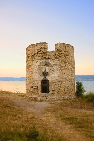 Ancient tower stock photo, Ancient tower in nessebar, bulgaria by Minka Ruskova-Stefanova