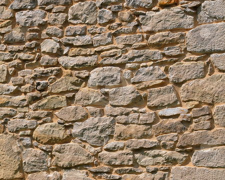 Stone Wall stock photo, Stone Wall by W. Paul Thomas