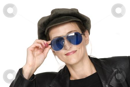 Dark Glasses stock photo, Dark glasses by Desislava Draganova