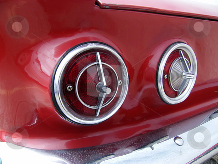 Taillights on 1964 Chevrolet Corvair stock photo, Taillights on 1964 Chevrolet Corvair Monza 900 Convertible, by Dazz Lee Photography