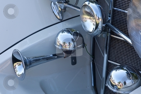 Vintage Car Details stock photo, A vintage car is commonly defined as a car built between the start of 1919 and the end of 1930. by Mariusz Jurgielewicz