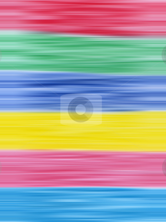 Primary and secondary colors abstract blur stripes background. stock photo, Primary and secondary colors abstract blur stripes background. by Stephen Rees