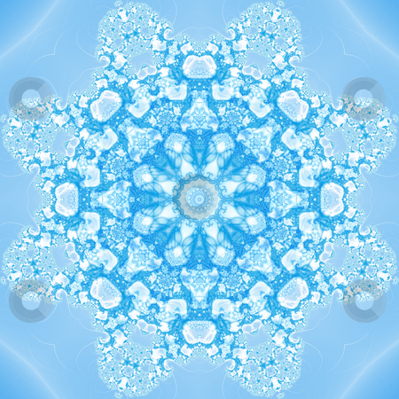 Fractal Kaleidoscope stock photo, Fractal kaleidoscopic computer generated background by Germán Ariel Berra