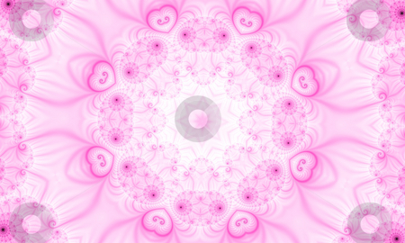 Fractal49G stock photo, Abstract pink background, generated from a fractal pattern. by Germán Ariel Berra