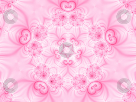 Fractal49h stock photo, Abstract pink background, generated from a fractal pattern. by Germán Ariel Berra