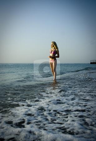 Sea queen stock photo, The sea queen costs ashore inspecting the possession by Aleksandr GAvrilov