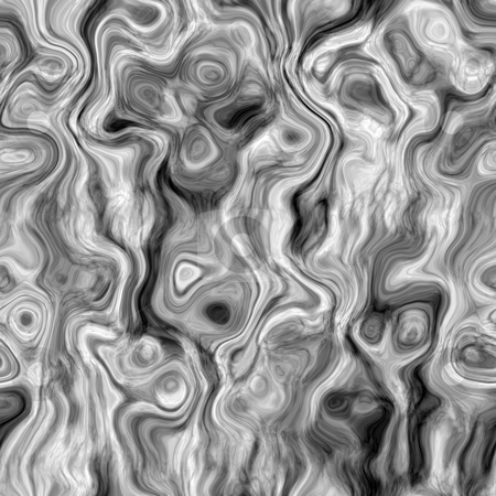 Smoke rings pattern stock photo, Seamless texture of curling grey and white lines by Wino Evertz
