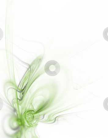 Floral stock photo, Abstract background illustration - floral design by J?