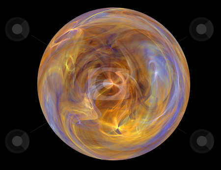 Sphere stock photo, The interesting and majestic image very reminding one of heavenly bodies of a galaxy by citcarsten