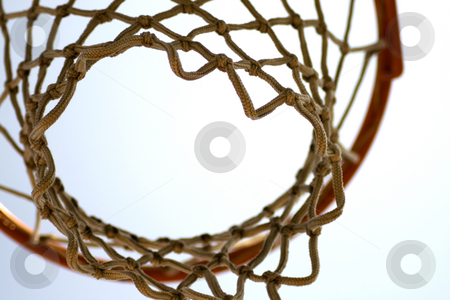 Basket stock photo, A basket for basketball seen from under by Fabio Alcini