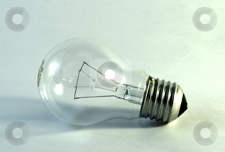 Green Bulb stock photo, A green bulb meaning of alternative energy by Fabio Alcini