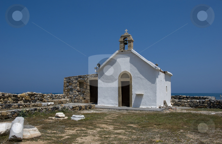 Ancient church on the Greece island Crete stock photo, Ancient church on the Greece island Crete by Chris Willemsen
