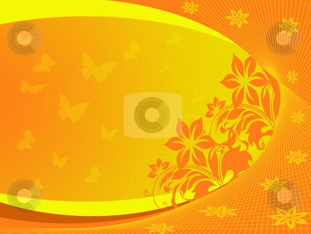 Orange background stock photo, Orange background by Minka Ruskova-Stefanova