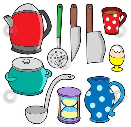 Domestics collection 2 stock vector clipart, Domestics collection 2 - vector illustration. by Klara Viskova