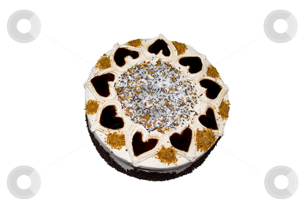 Love cake stock photo, Love cake by Minka Ruskova-Stefanova