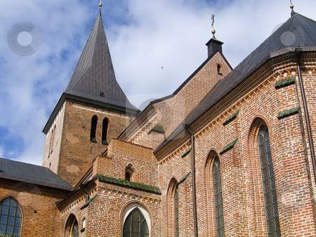 Church view stock photo, St. John's church in Tartu, Estonia by Alessandro Rizzolli