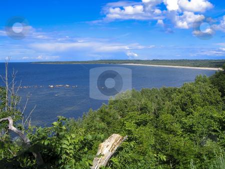 Baltic Sea coast stock photo, The baltic Sea seen from the coast located north of Tallinn, Estonia by Alessandro Rizzolli