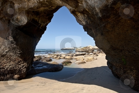 California beach stock photo, Lighthouse Field State Beach is a protected beach located in California. by Mariusz Jurgielewicz