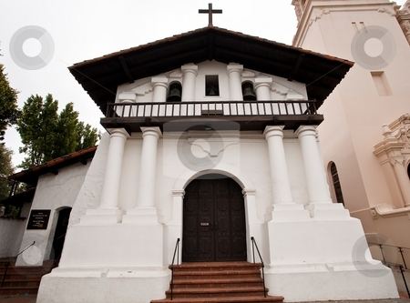 Mission Dolores stock photo, Mission San Francisco de As?s is the oldest surviving structure in San Francisco and the sixth religious settlement established as part of the California chain of missions. by Mariusz Jurgielewicz