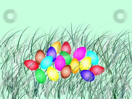Easter eggs stock photo, Easter eggs by Minka Ruskova-Stefanova
