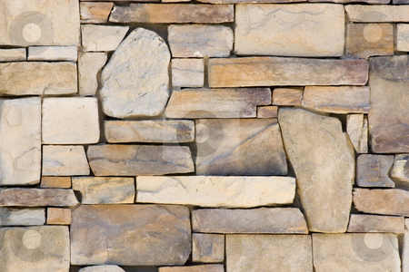 Background Rock Wall Pattern stock photo, Rock Wall Background by Mehmet Dilsiz
