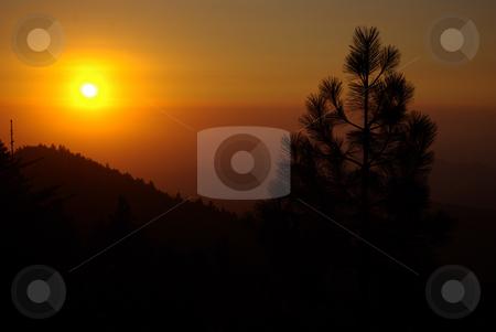 Sunset in the Sierras 3 stock photo,  by Kristine Keller
