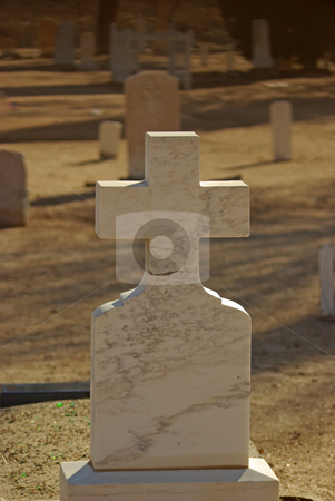 Headstone 2 stock photo,  by Kristine Keller