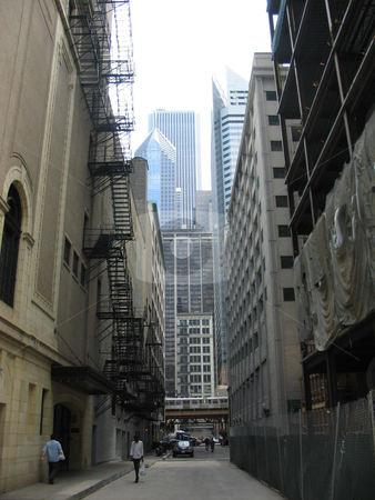 Chicago Alley stock photo,  by Kristine Keller