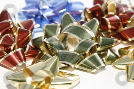 Close up on Bows stock photo, Close up on colorful few Bows by Mehmet Dilsiz
