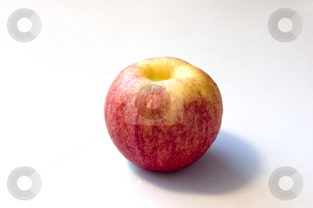 Old Apple stock photo, Old Apple that looks like a Peach by Mehmet Dilsiz