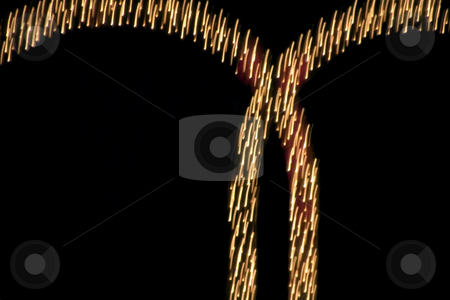 Abstract Lights stock photo, Abstract Sign Lights by Mehmet Dilsiz