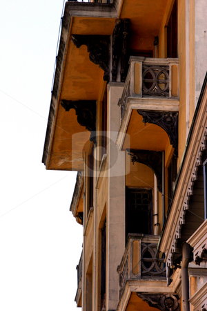 Old Structure stock photo, Close up on an Old Structure in Istanbul by Mehmet Dilsiz