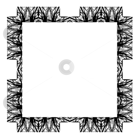 Decorative Abstract Digital Design - Square Frame stock photo, Abstract Digital Background Design by Mehmet Dilsiz