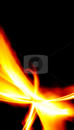 Fiery Abstract Layout stock photo, A unique fractal background texture that will enhance any design. by Todd Arena