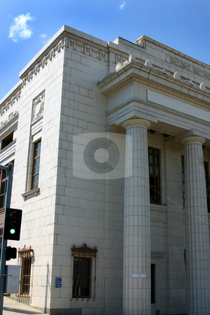 Old Roman Building stock photo, Old Roman Building in downtown Helena by Mehmet Dilsiz