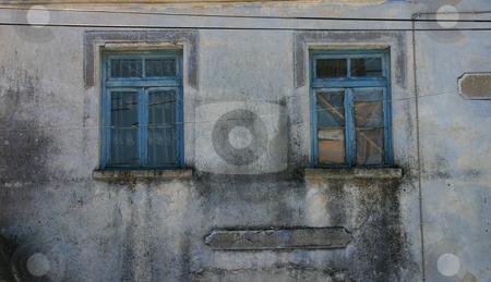 Old Unoccupied House Window in Candarli, Turkey stock photo, Old Unoccupied House Window in Turkey by Mehmet Dilsiz