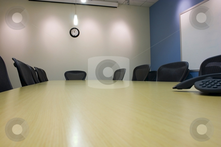 Conference Room  stock photo, Conference Room and the empty chairs by Mehmet Dilsiz