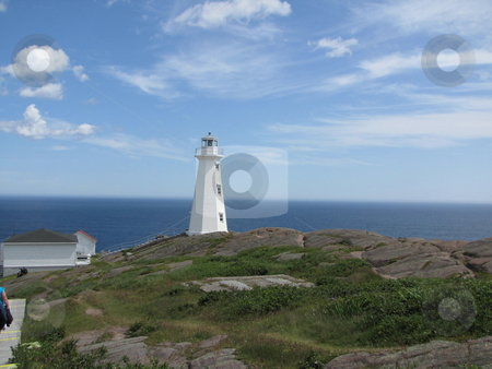 Coastal Lighthose stock photo, Along the coast of the Atlantic ocean lies this beautiful lighthose by CHERYL LAFOND