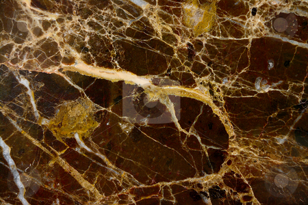 Marble texture stock photo, A slab of polished dark marble, textured with light veins. by Martin Darley