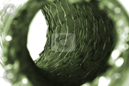 Isolated Dryer Vent Hose stock photo, Isolated Close Up on a Dryer Vent Hose by Mehmet Dilsiz