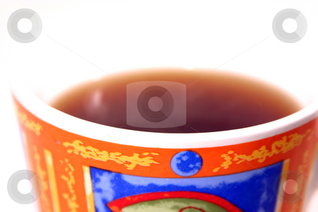 Isolated Coffee Mug stock photo, Isolated Coffee Mug with no top - abstract by Mehmet Dilsiz
