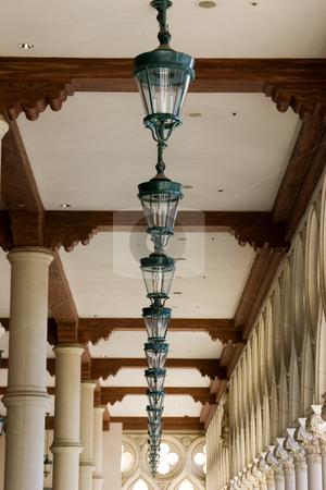 Italian Style Ceiling Lamps in a Row in Venetian , Las Vegas stock photo, Italian Style Ceiling Lamps in a Row in Venetian , Las Vegas Nevada by Mehmet Dilsiz