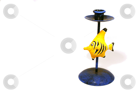 Fish Candle Holder stock photo, Home Decoration - Candle Holder by Mehmet Dilsiz