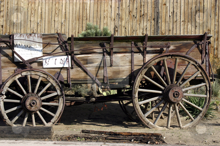 Old Antique Wagon stock photo, Close up on an Old Antique Wagon by Mehmet Dilsiz