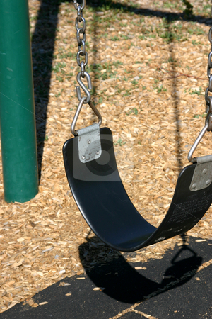 Swing stock photo, Close up on a Swing Seat by Mehmet Dilsiz