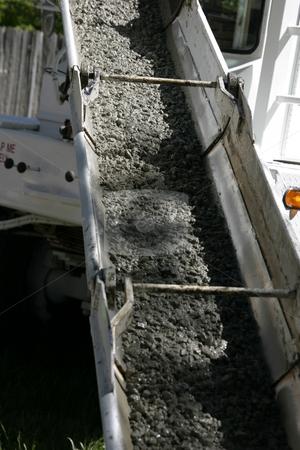 Sliding Concrete Mud stock photo, Pouring Concrete by Mehmet Dilsiz