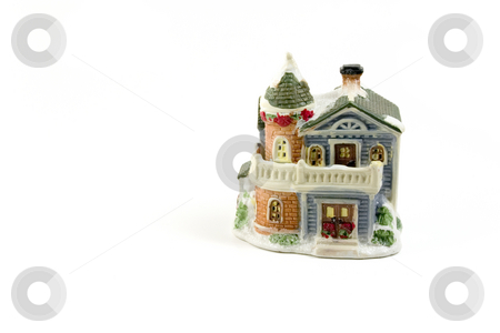 Christmas Decoration House - 2 stock photo, Christmas Decoration House - 2 by Mehmet Dilsiz